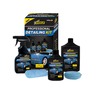 Complete Car Care Kit 7 Pack Shield Chemicals
